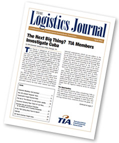 Logistics Journal Cover